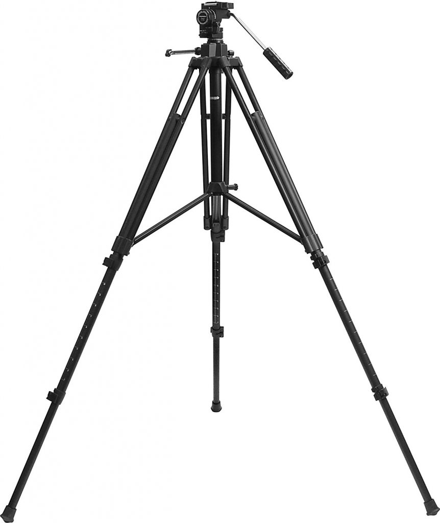 heavy duty spotting scope tripod