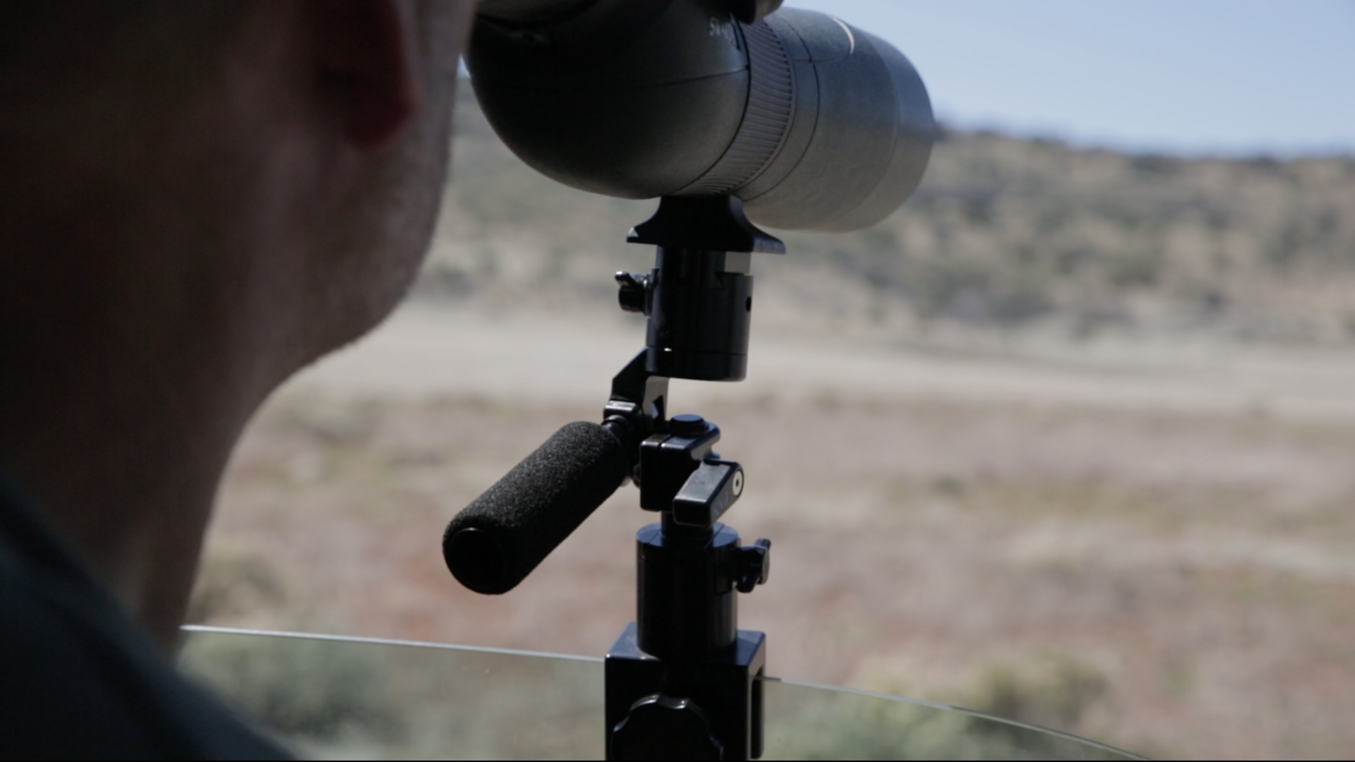 Spotting Scope Window Mount