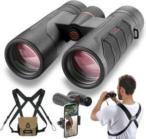 Scoopx 10x42 ultra hd binoculars